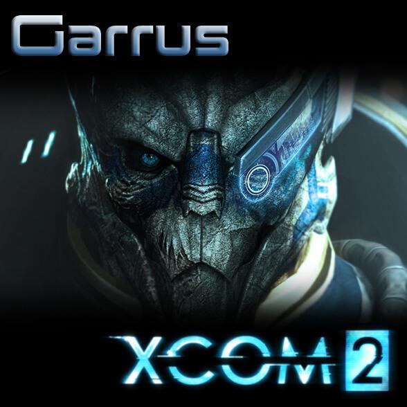 XCOM 2 - Гаррус из Mass Effect 3