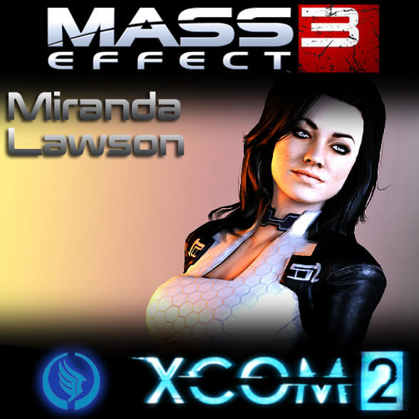 XCOM 2 - Миранда из Mass Effect 2
