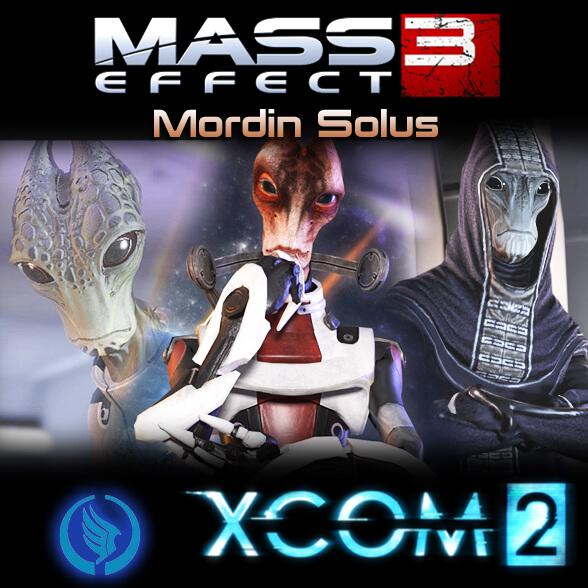 XCOM 2 - Мордин Солус из Mass Effect