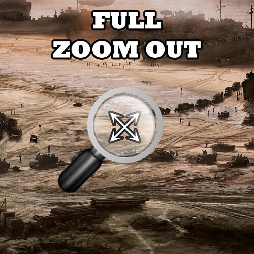 """Hearts of Iron IV - Полный """"Zoom Out"""""""