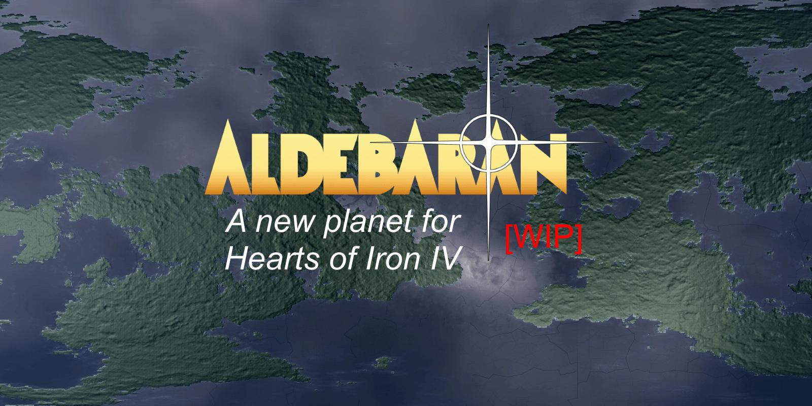 Hearts of Iron IV - Альдебаран - новая планета!