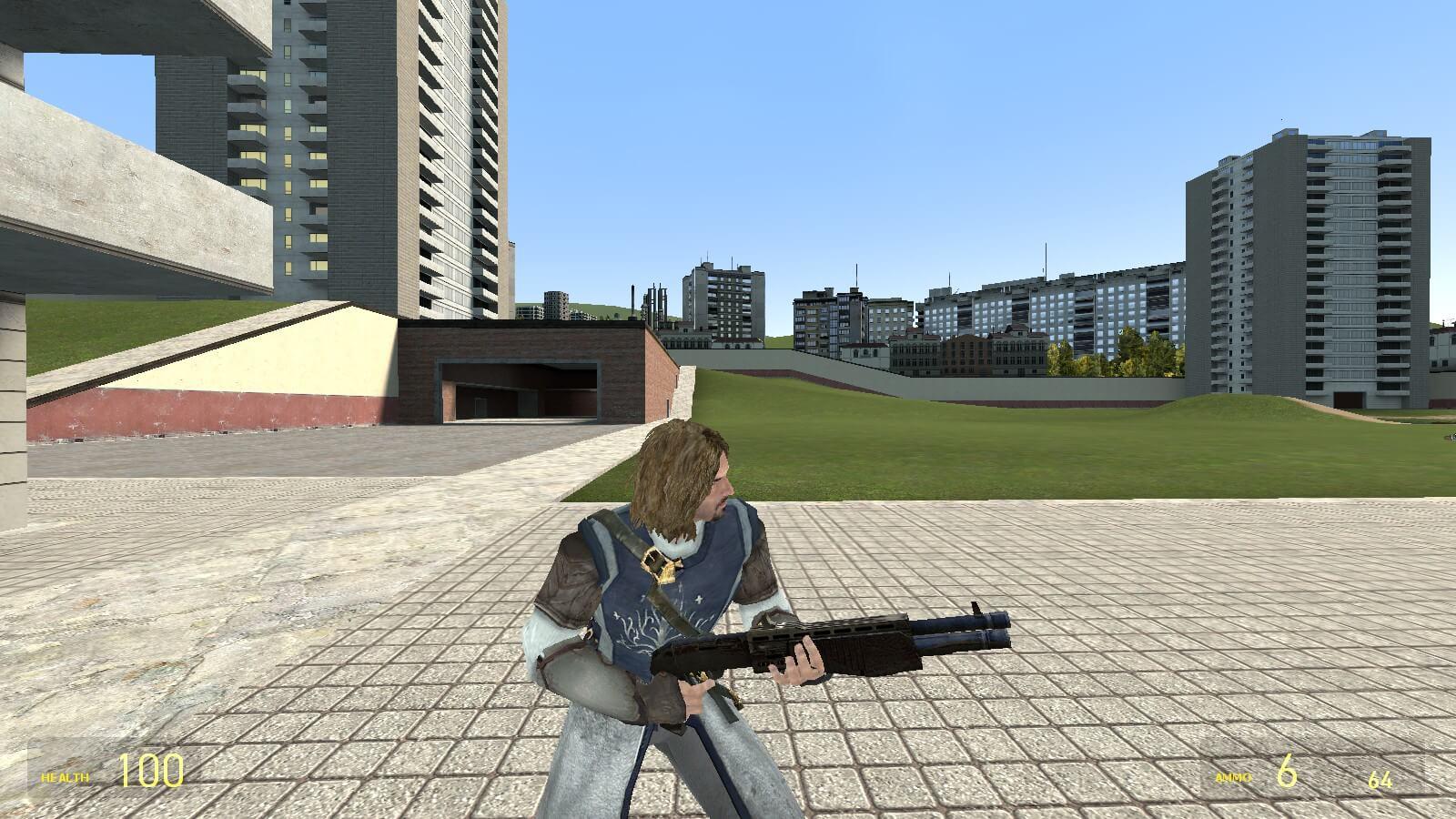 Garry's Mod 13 - Пехотинец Гондора (игровая модель + NPC)