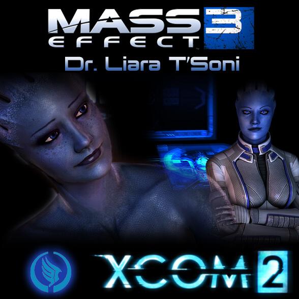 XCOM 2 - Лиара из Mass Effect 3