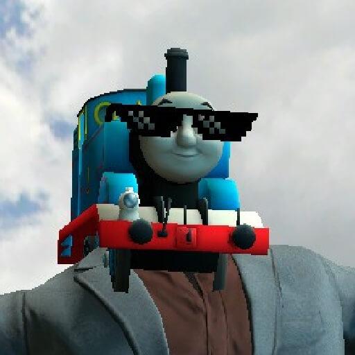 Garry's Mod 13 - Паровозик Томас (модель игрока)