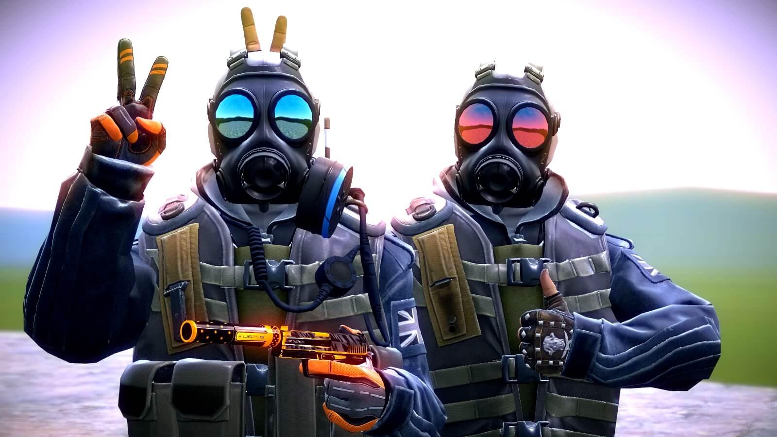 Garry's Mod 13 - Солдат SAS из CS:GO