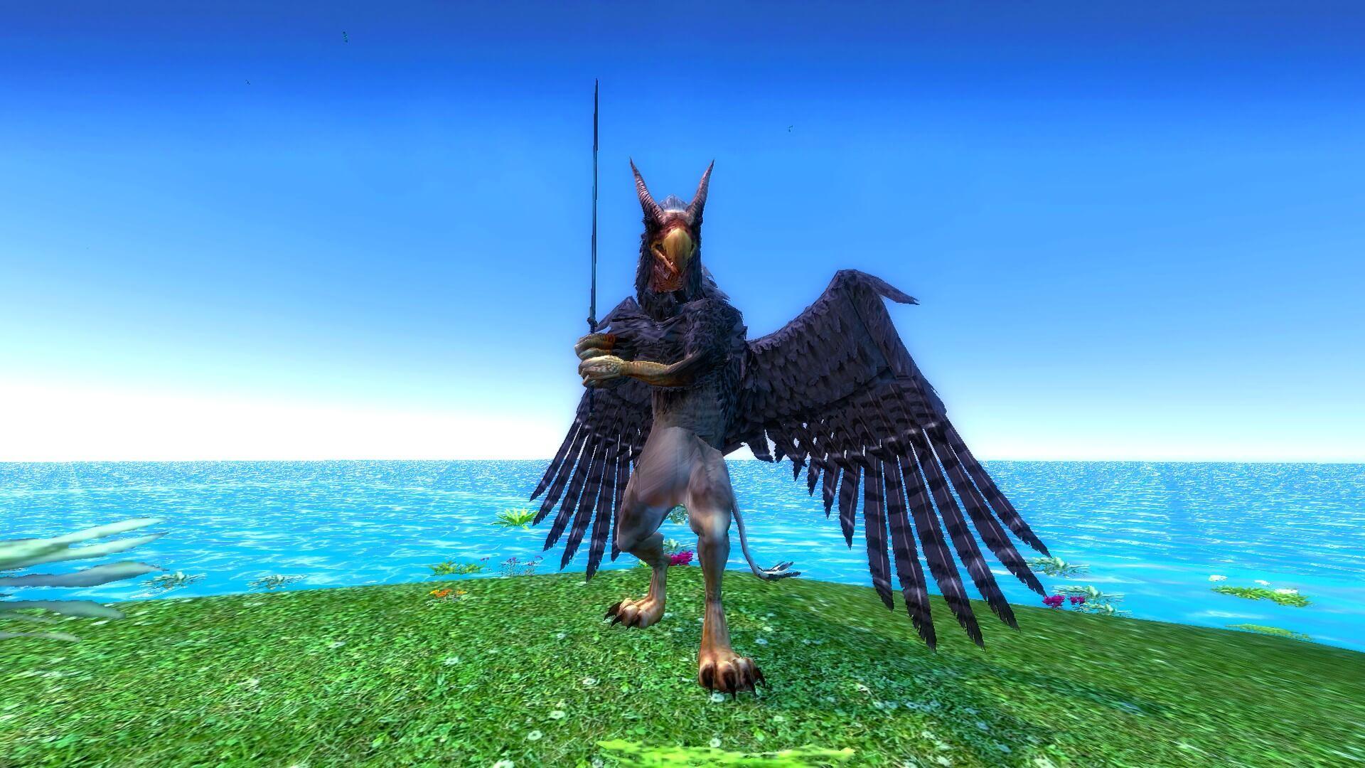 Garry's Mod 13 - Легендарный грифон (модель игрока)
