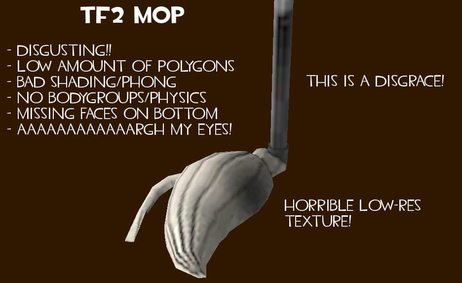 Garry's Mod 13 - Улучшенная швабра из TF2