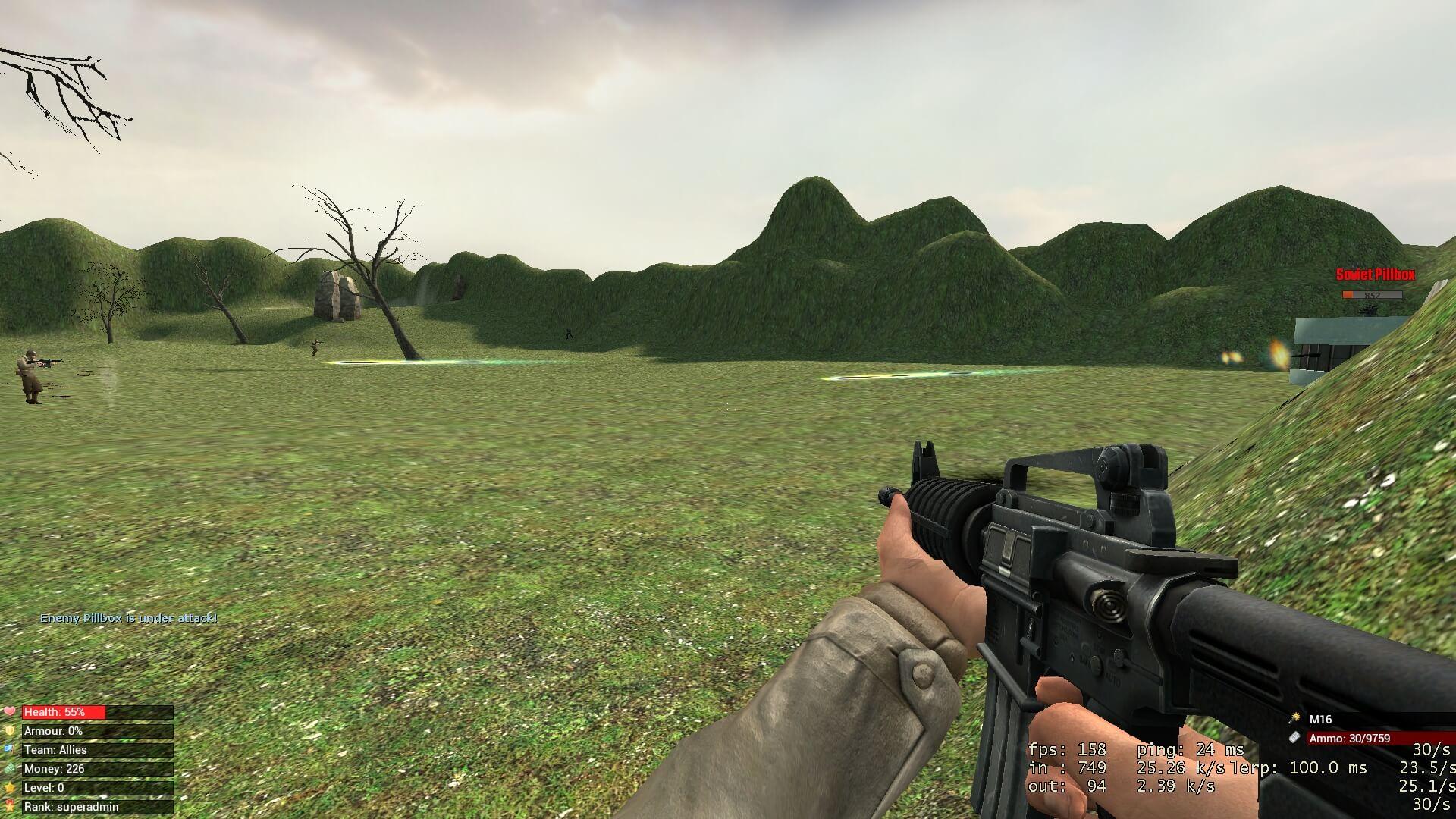 "Garry's Mod 13 - Игровой режим ""World War III"""