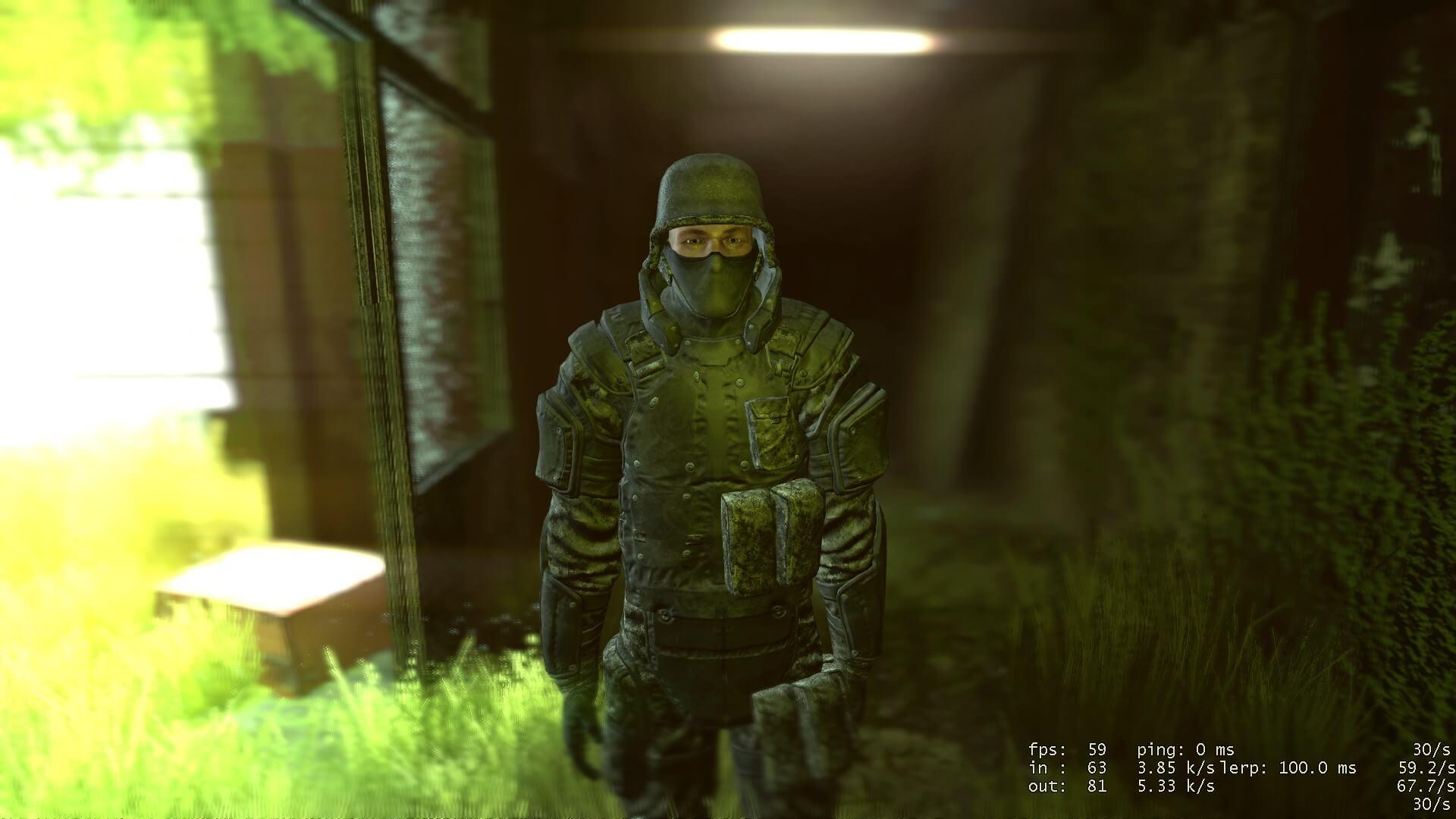 Garry's Mod 13 - Солдат SWAT из Outlast (игровая модель и NPC)