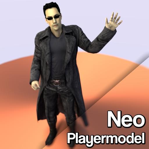 Garry's Mod 13 - Нео из Матрицы (модель игрока)