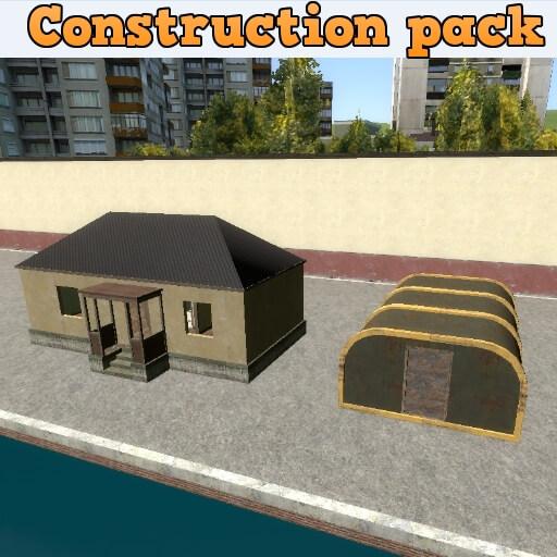 Garry's Mod 13 - Комплект для строительства