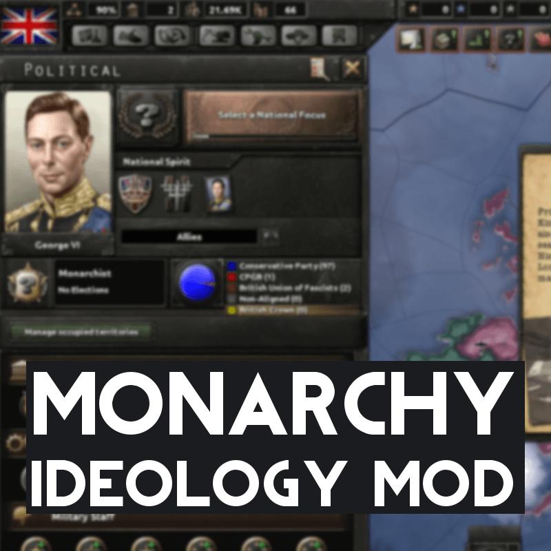 Hearts of Iron IV - Монархия