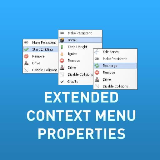 Garry's Mod 13 - Extended Properties - много новых свойств