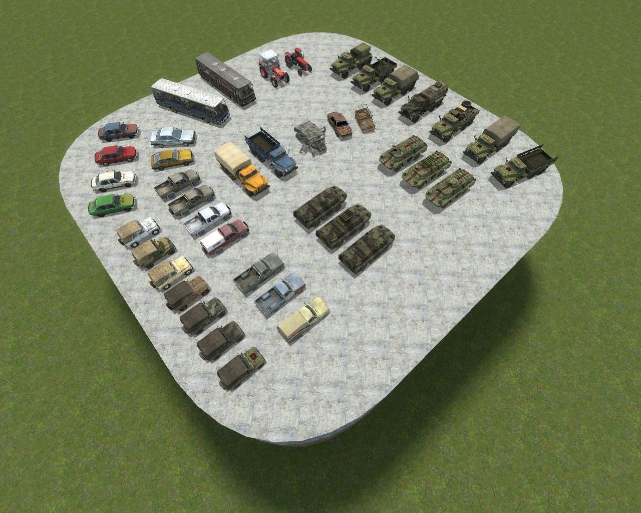 Garry's Mod 13 - Набор транспорта из Arma III