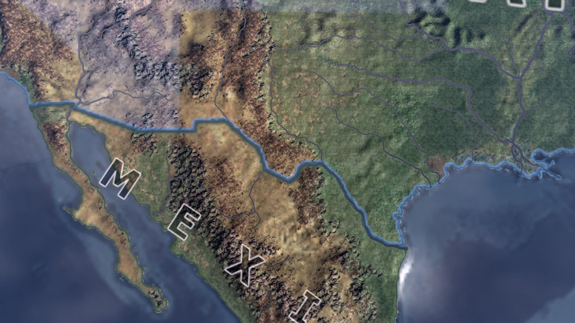 Hearts of Iron IV - MapFX - улучшенная карта