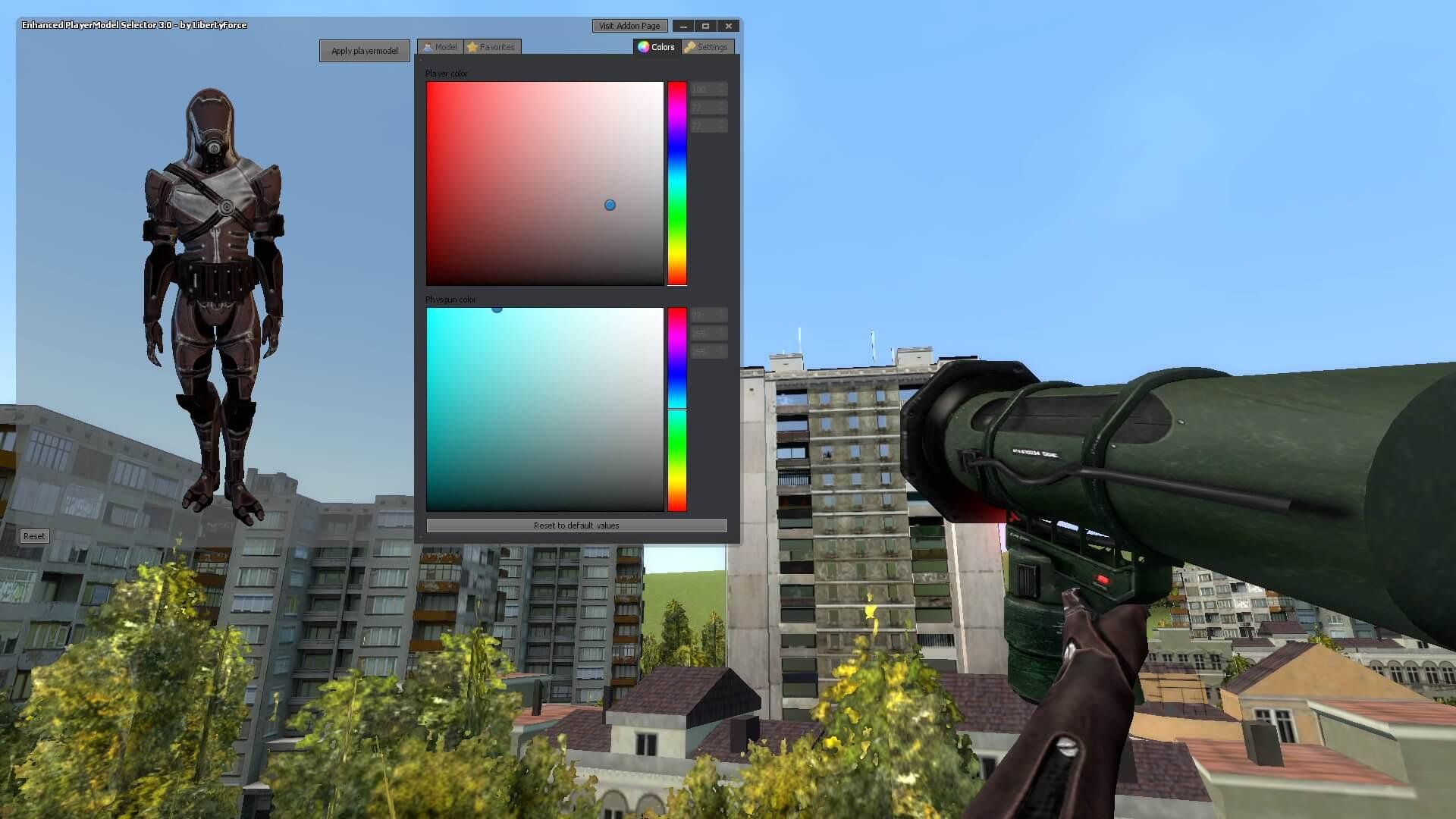 Garry's Mod 13 - Кварианец из Mass Effect 3