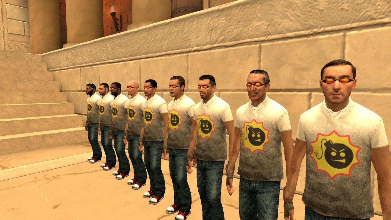 Garry's Mod 13 - Serious Citizens - горожане в одежде