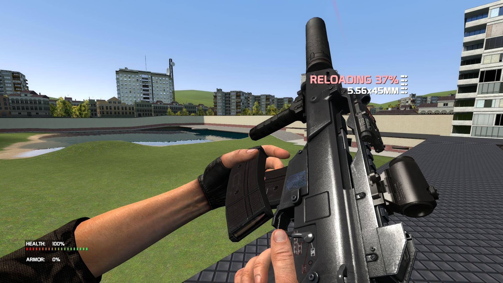 Garry's Mod 13 - Extra Customizable Weaponry 2.0 - больше оружия для CW!