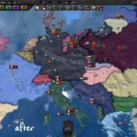Hearts of Iron IV - Улучшенная политическая карта
