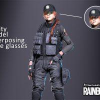 Garry's Mod 13 - Ash из Rainbow Six: Siege (модель игрока и рэгдолл)