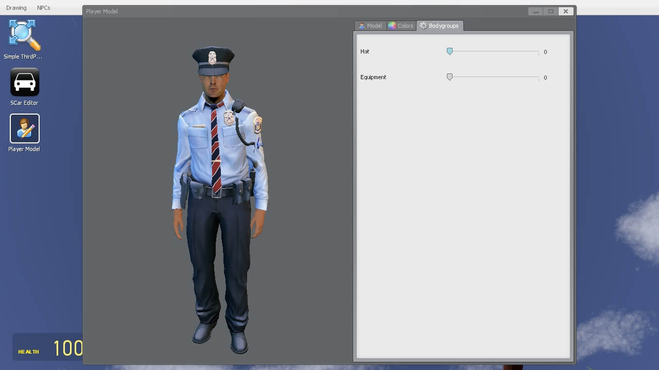 аддоны для гаррис мода полицейский