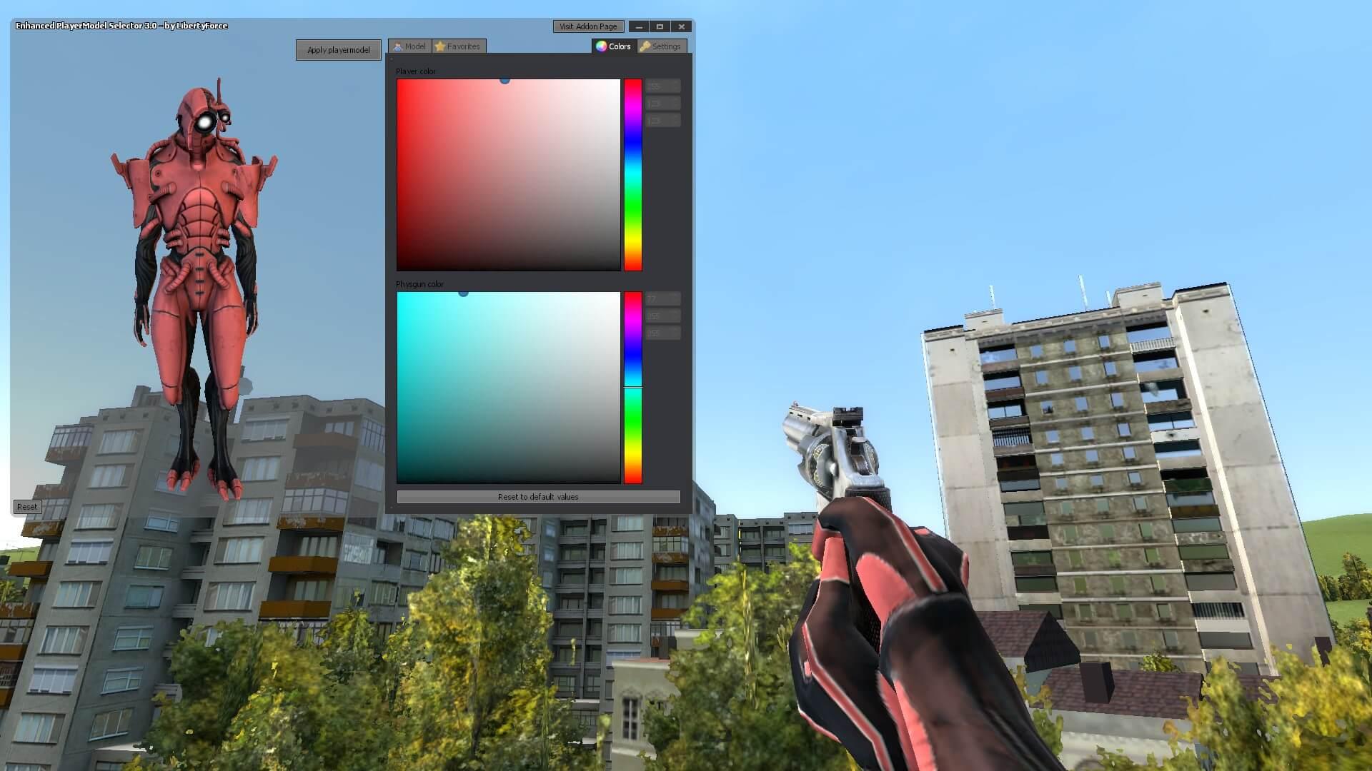 Garry's Mod 13 - Гет-лазутчик из Mass Effect 3 (модель игрока)