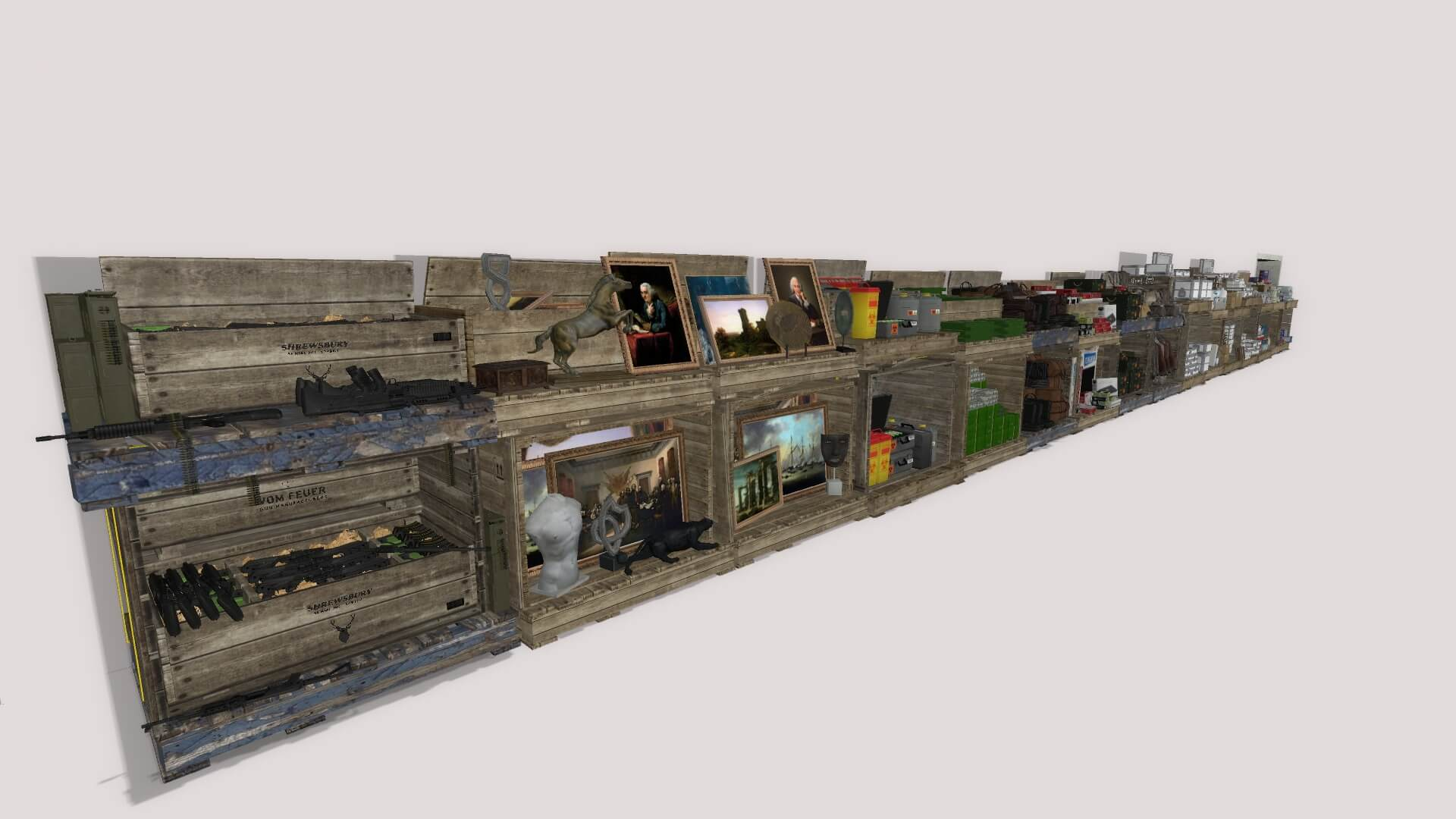 Garry's Mod 13 - Складские ящики из GTA Online