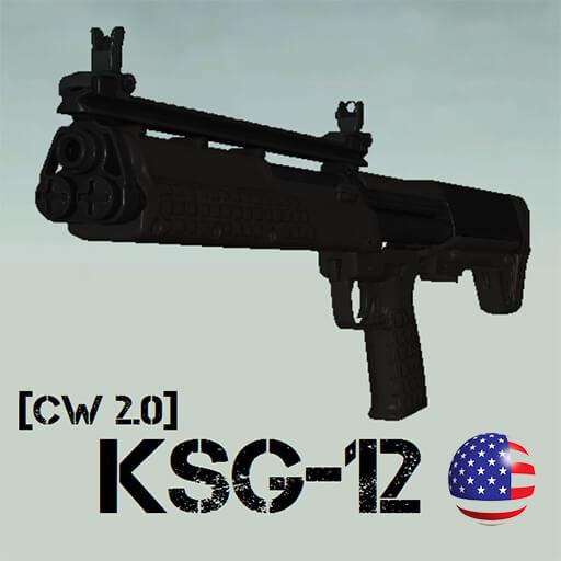 Garry's Mod 13 - Kel-Tec KSG-12 [CW 2.0]