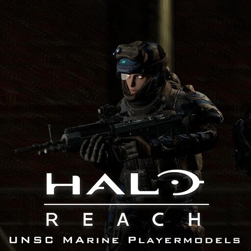Garry's Mod 13 - Морпехи из Halo Reach (модели игрока)