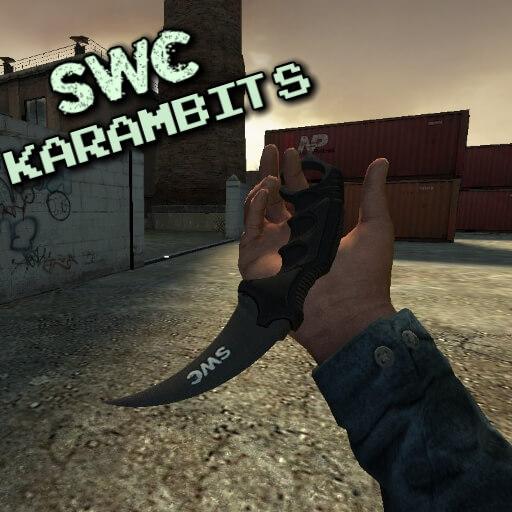 Garry's Mod 13 - Керамбиты CS:GO стиля от SWC