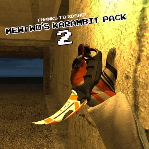 Garry's Mod 13 - Пак керамбитов от Mewtwo