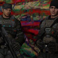 Garry's Mod 13 - Модели полицейских и гражданских