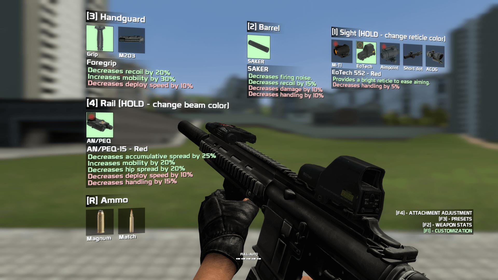 Garry's Mod 13 - HK416C [CW 2.0]