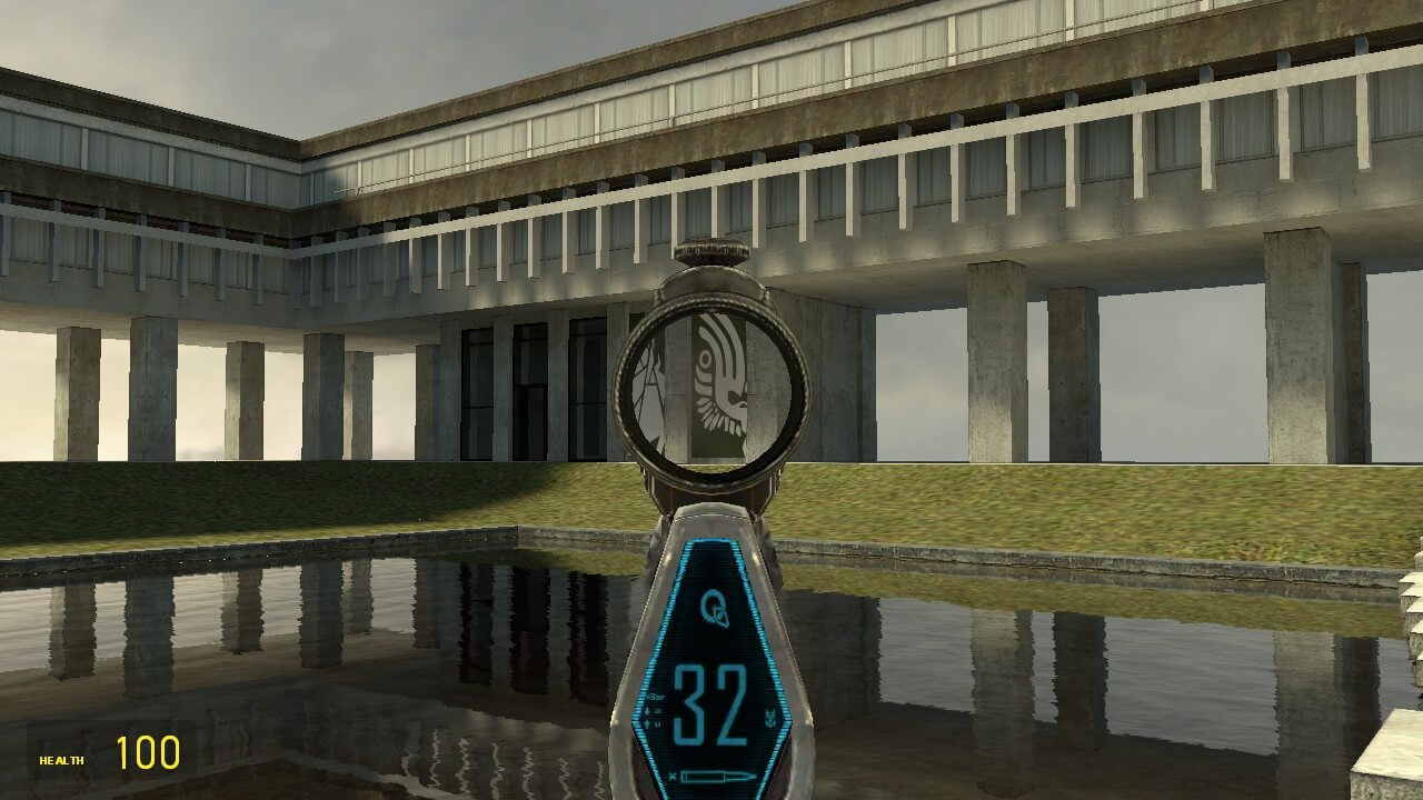 Garry's Mod 13 - Штурмовая винтовка MA-37 из Halo Reach