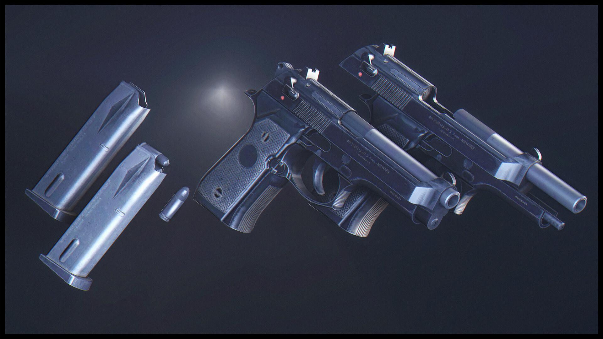 Garry's Mod 13 - M9 Beretta из Modern Warfare Remastered