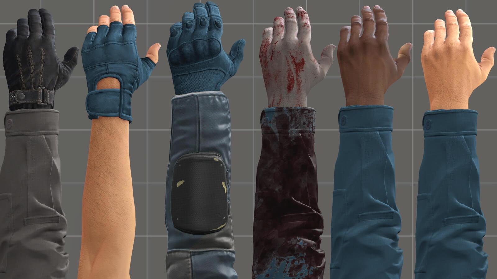 Garry's Mod 13 - Руки от первого лица из CS:GO в высоком качестве