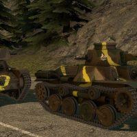 Garry's Mod 13 - Type 95 Ha-Go и Type 4 Ke-Nu из World of Tanks