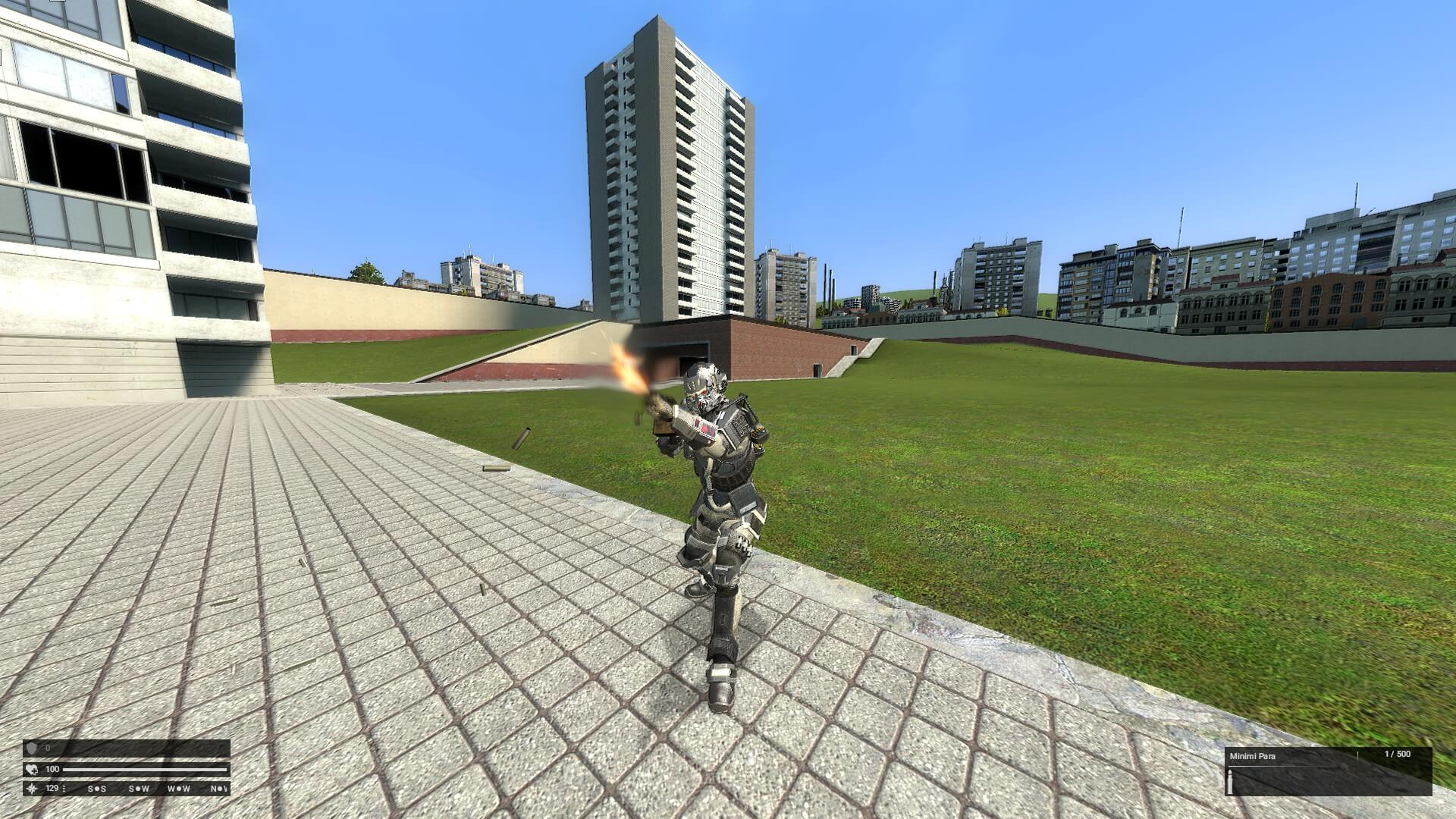 Garry's Mod 13 - Наступательная пехота Хелгаста из Killzone: Shadowfall
