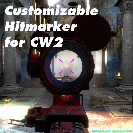 Garry's Mod 13 - Маркер прицела [CW 2.0]