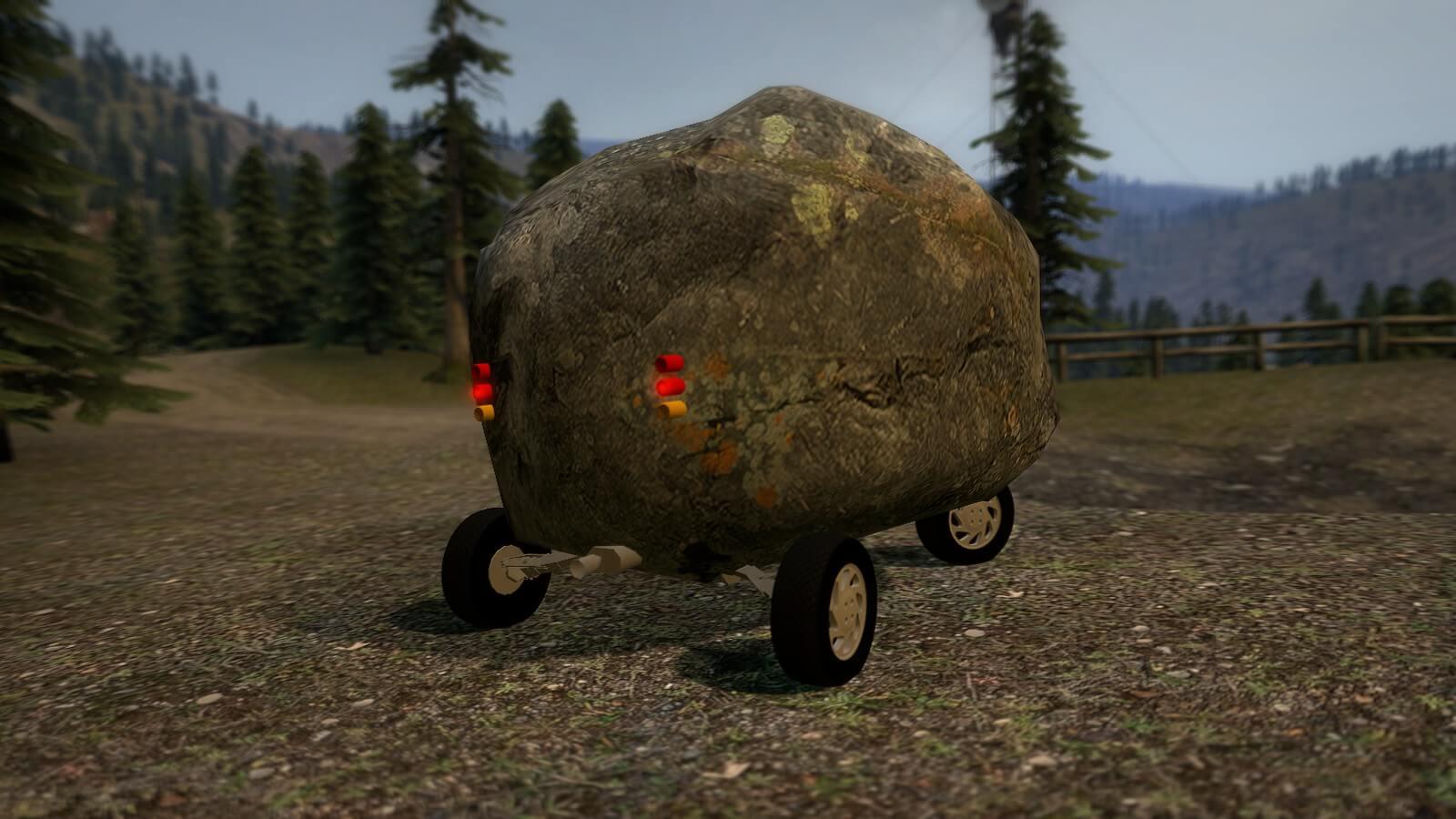 Garry's Mod 13 - Камень на колесах
