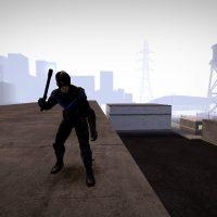 Garry's Mod 13 - Найтвинг из Arkham Knight (NPC и игровая модель)