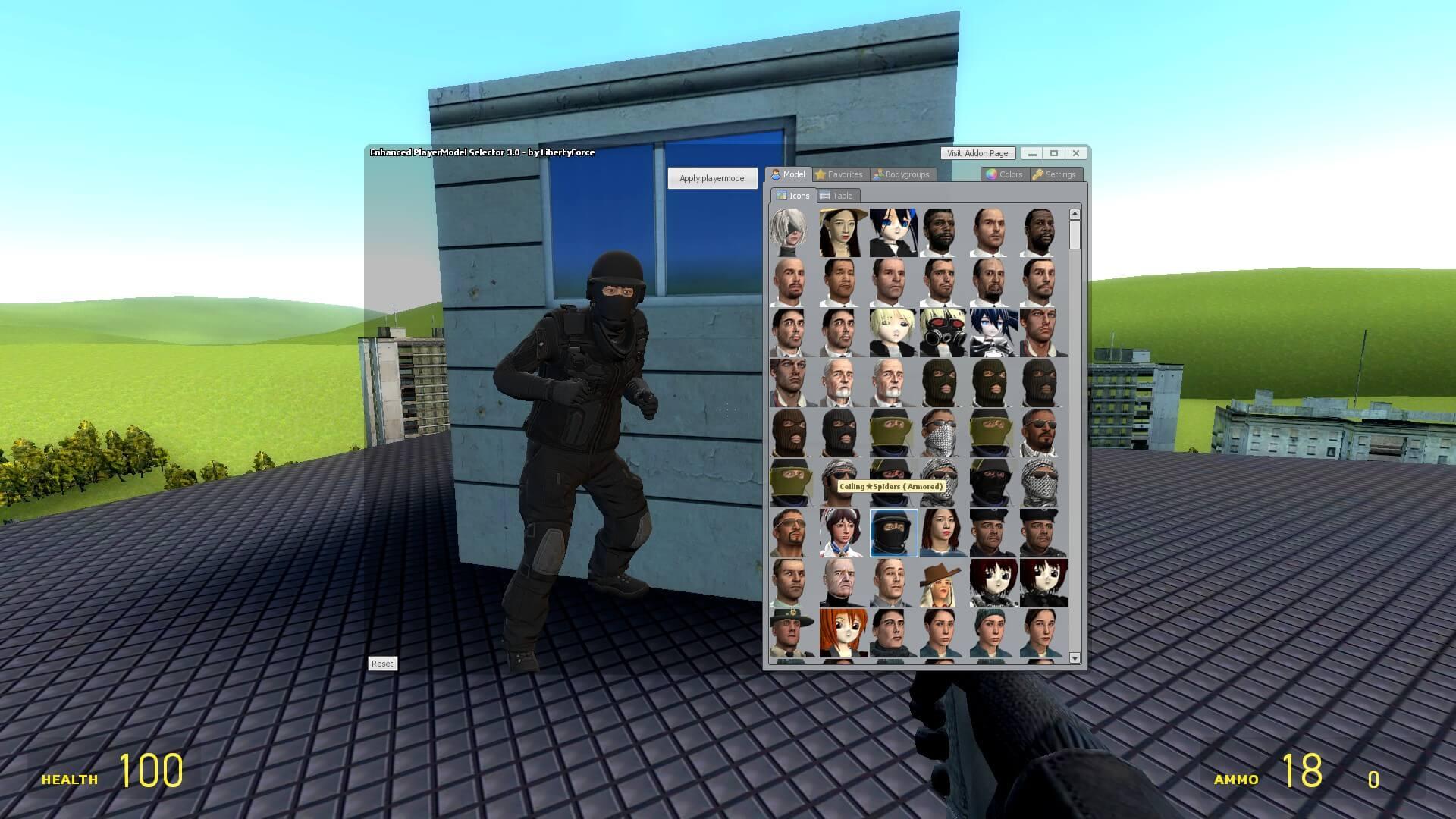 Garry's Mod 13 - Солдат спецназа из GTA V (игровая модель и NPC)