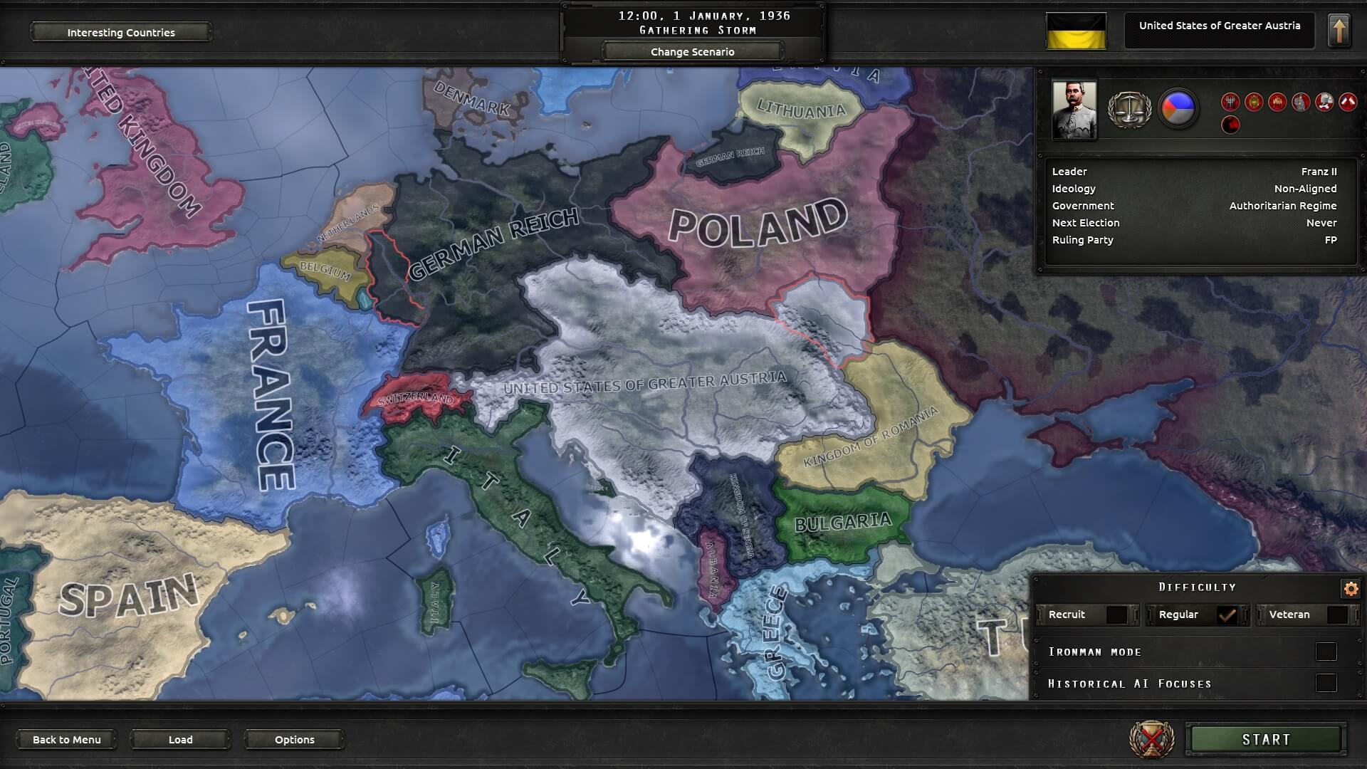 Hearts of Iron IV - Австрийский феникс