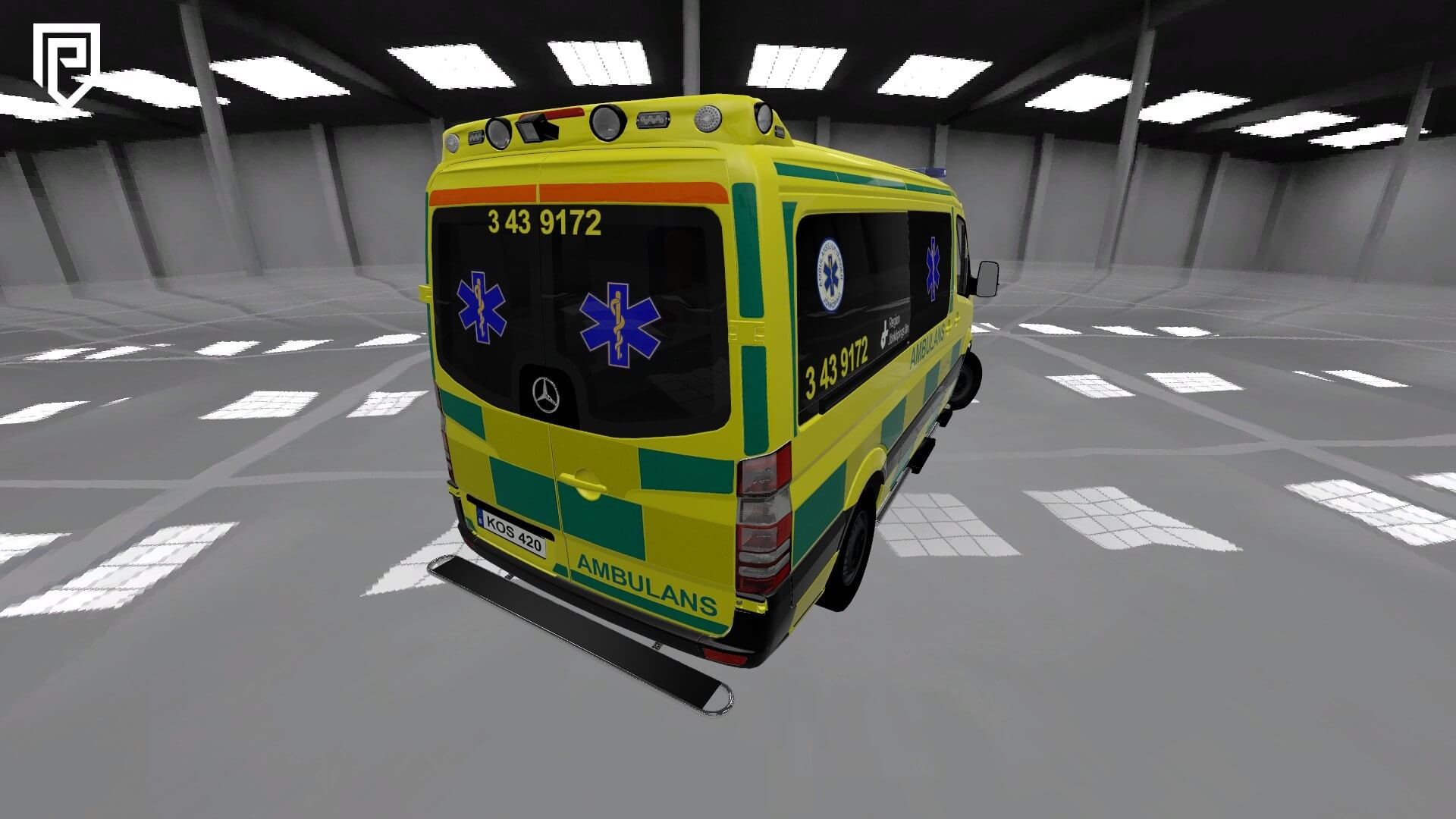 Garry's Mod 13 - Mercedes Sprinter Ambulance