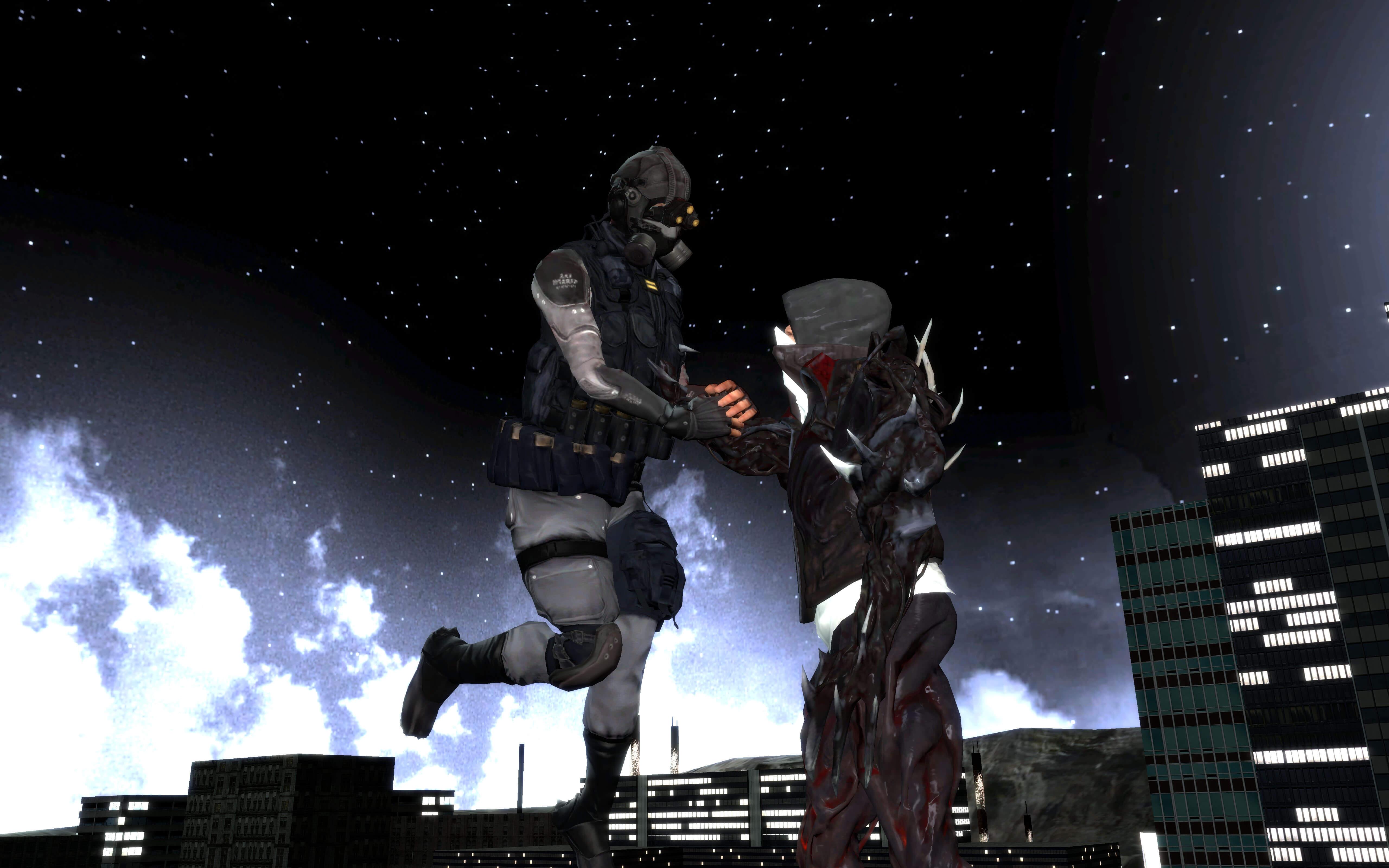 Фото бойцов спецназа из игры прототип тем как