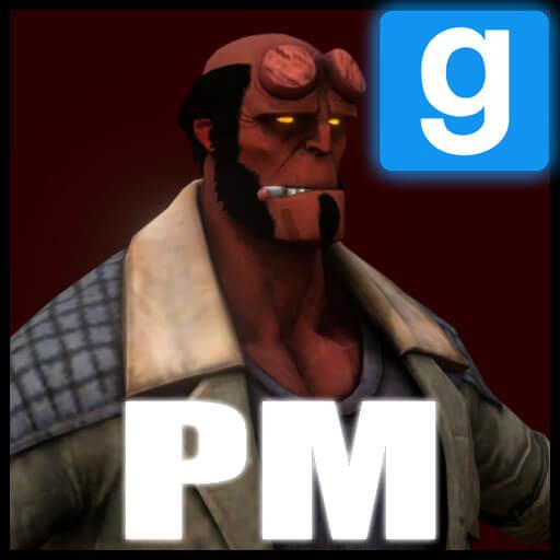 Garry's Mod 13 - Hellboy из Injustice 2 (модель игрока)