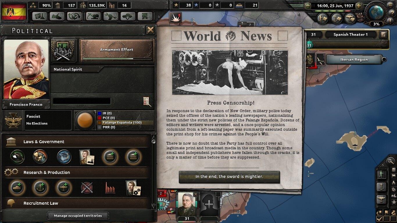 Hearts of Iron IV - Новый мировой порядок / New World Order