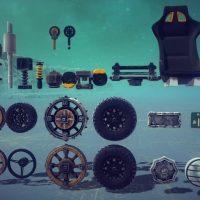 Besiege - Набор внедорожных колес №2