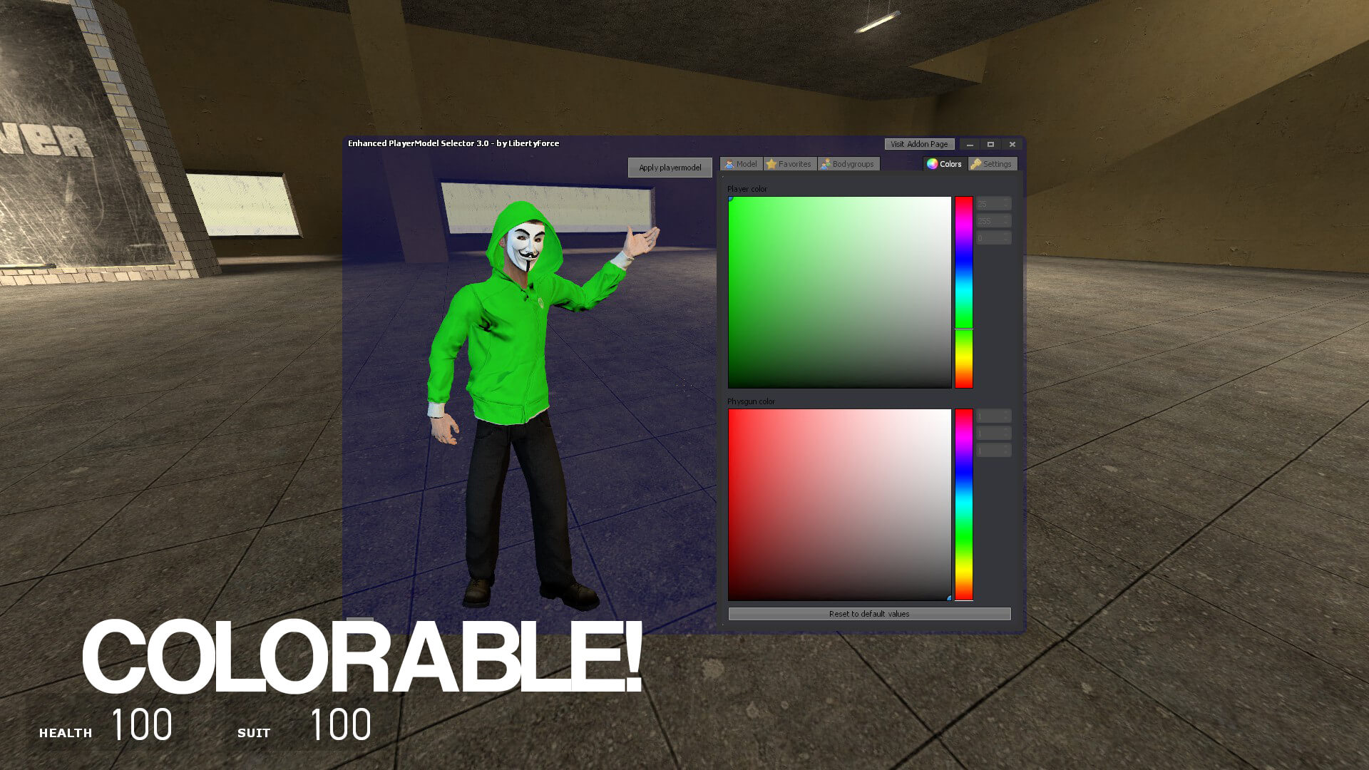 Garry's Mod 13 - Анонимус (модель игрока)