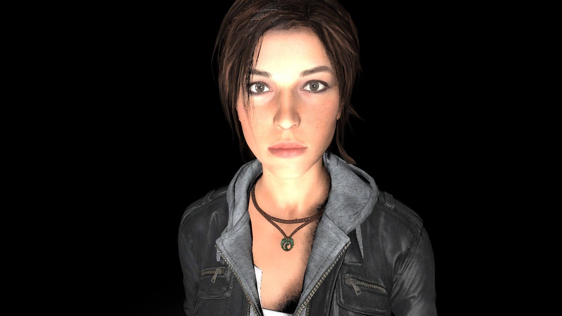 Garry's Mod 13 - Лара Крофт в кожаной куртке (модель игрока и NPC)